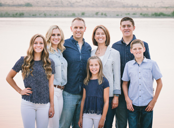 Dr. Spencer Jilek, DDS and family
